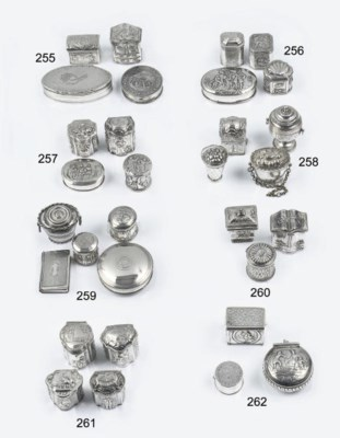 A dutch silver vinaigrette, pi