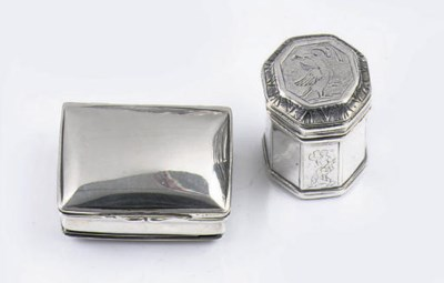 An early and rare dutch silver