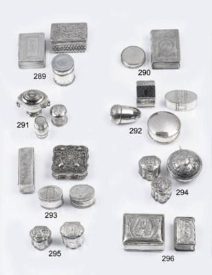 A fine dutch silver sealing wa