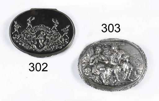 A Dutch silver-mounted tortois