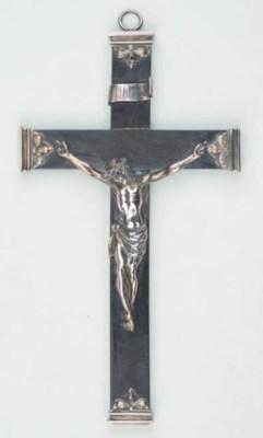 A german silver Corpus Christi