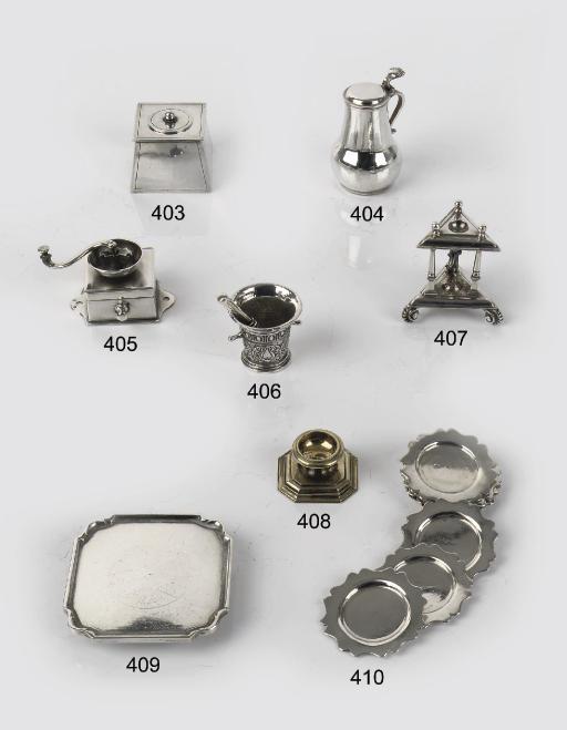 A dutch silver-gilt miniature