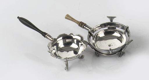 Two various dutch silver minia