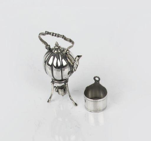 A dutch silver miniature hotwa