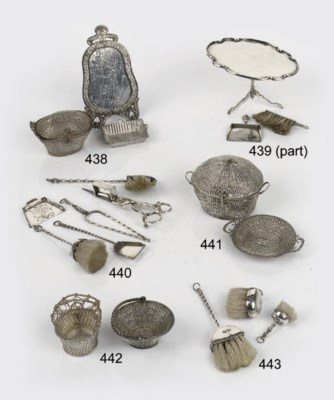 Three various dutch silver min