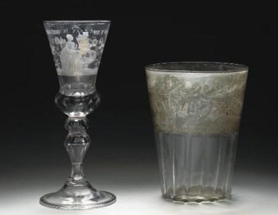 A façon de Venise beaker vase