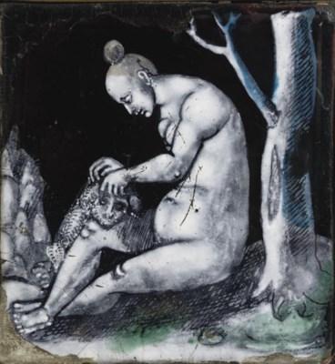 AN ORMOLU-MOUNTED MYTHOLOGICAL