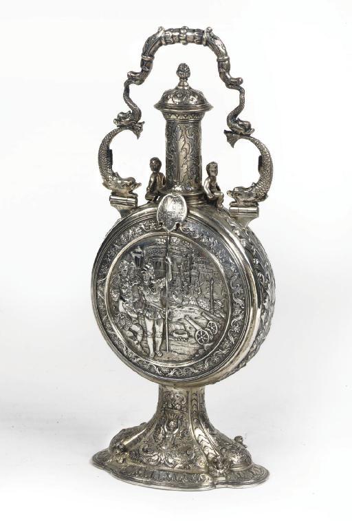 A german silver Historismus pi