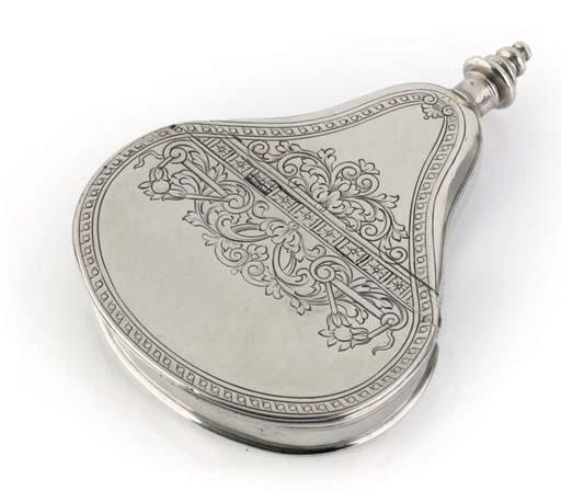 A silver combination powder fl