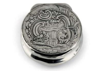 A Norwegian silver snuff-box
