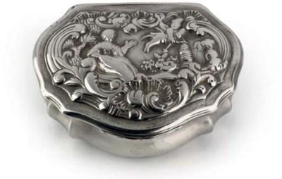 A Danish silver snuff-box