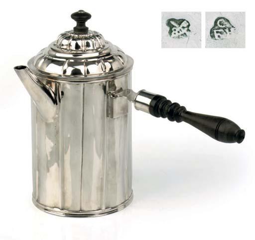 A BALTIC SILVER COFFEE-POT