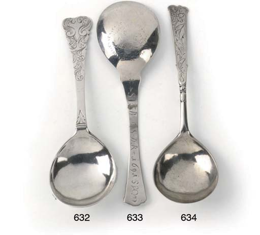 A Norwegian silver spoon