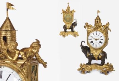 A rare Louis XV ormolu and pat