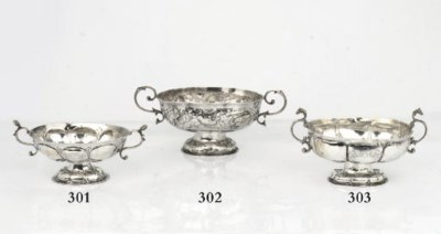 A Dutch silver brandybowl