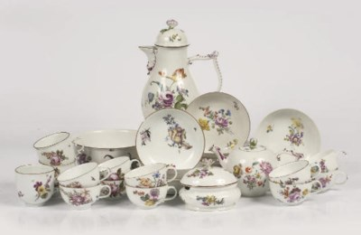 A Meissen coffee- and teaservi
