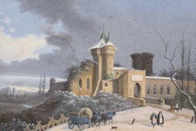 Henri Knip (Dutch, 1819-after