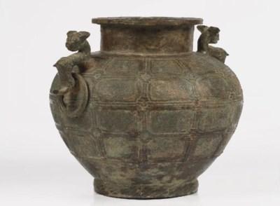 An archaic bronze ceremonial w
