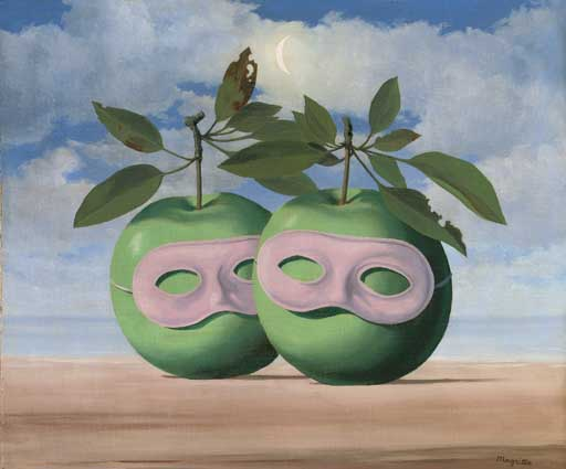 Image result for Le Prêtre Marié by René Magritte