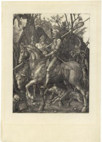 Knight, Death and the Devil (B. 98; M., Holl. 74; S.M.S. 69)