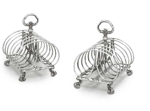 A PAIR OF VICTORIAN SILVER TOA