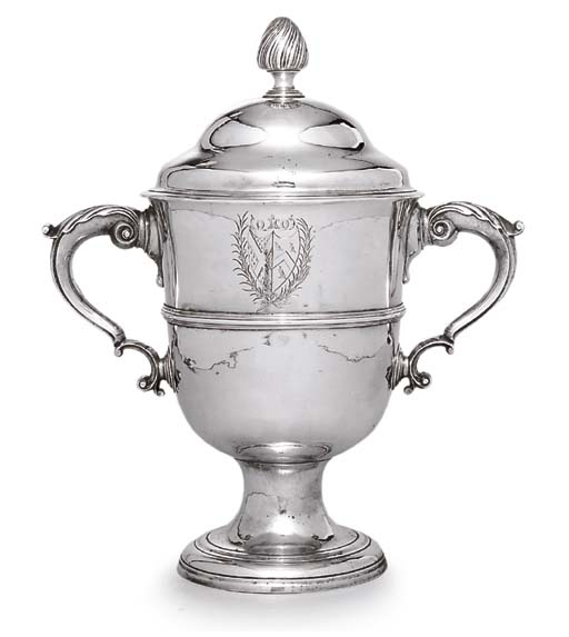A GEORGE II IRISH SILVER CUP A