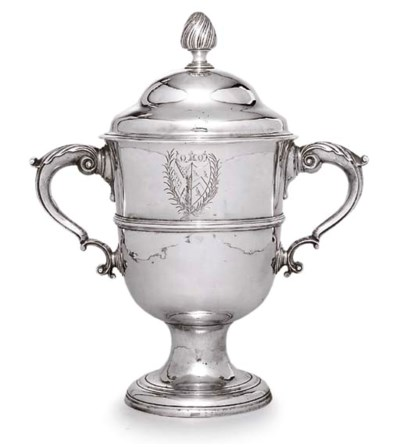 A GEORGE II IRISH SILVER CUP A