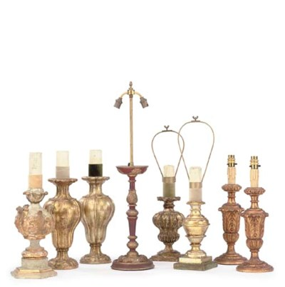 A COLLECTION OF ITALIAN GILDED