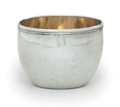 A GERMAN SILVER TUMBLER-CUP