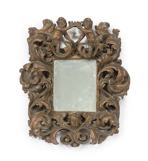 A NORTH ITALIAN PICTURE FRAME