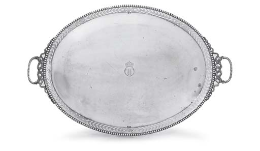 A CONTINENTAL SILVER GALLERY-T