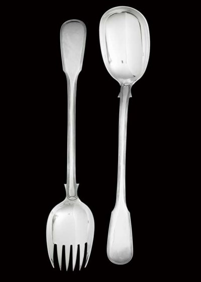 A PAIR OF VICTOTIAN SILVER SAL