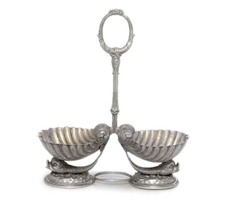 A SILVER-PLATED DOUBLE SWEETME
