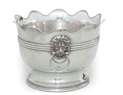 A SILVER-PLATED MONTEITH