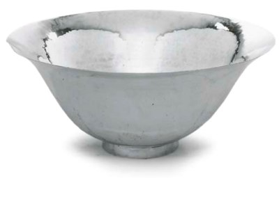 AN ARTS AND CRAFT SILVER-PLATE