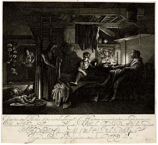 Hendrik Goudt after Adam Elshe