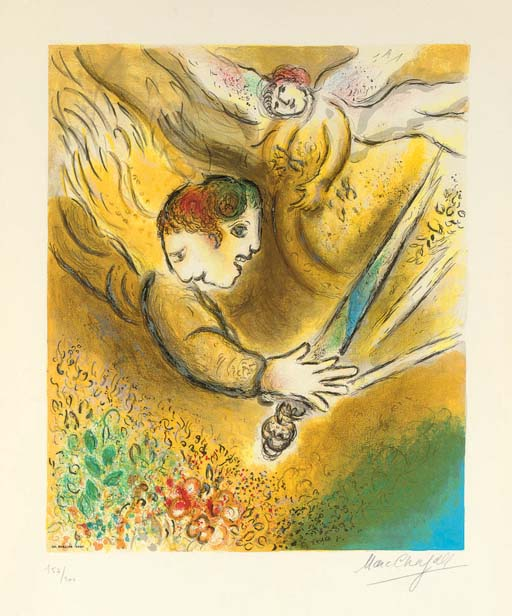 After Marc Chagal by Charles S