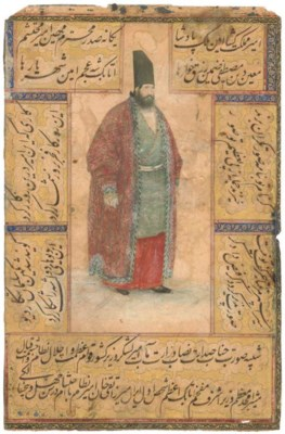 PORTRAIT OF MIRZA TAQI KHAN, A