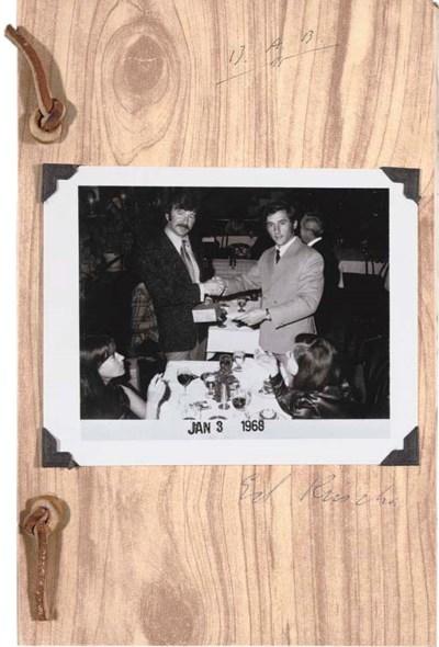 ED RUSCHA AND BILLY AL BENGSTO