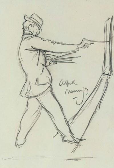 Sir Alfred James Munnings, P.R