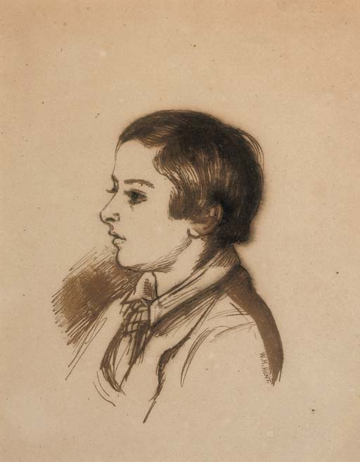 Portrait of Arthur Henry Giles, aged twelve, bust-length