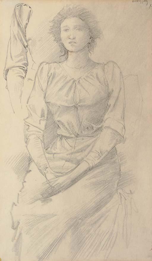 Sir Edward Coley Burne-Jones, Bt., A.R.A., R.W.S. (1833-1898)