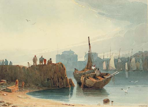The harbour, Le Havre