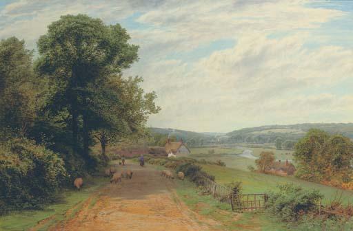 The river Test above Stockbridge, Hampshire