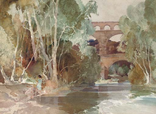 View of the Pont du Gard: An Essay in Romantic Landscape