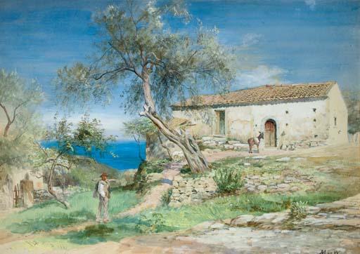 A Villa at Taormina, Sicily
