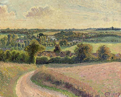 Vue des Coteaux de Bazincourt