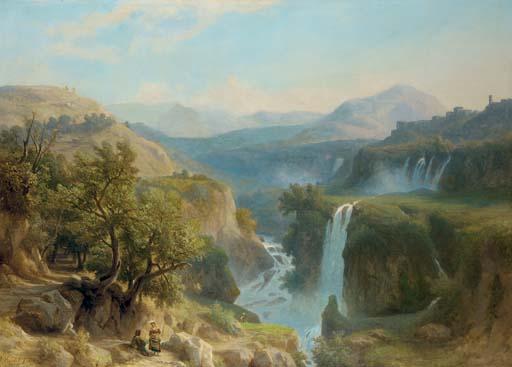 Franz Knebel (Swiss, 1809-1877