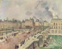 Le Pont Neuf, naufrage de la 'Bonne Mère'