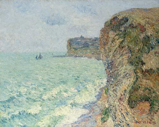 Les falaises de Grainval près de Fécamp